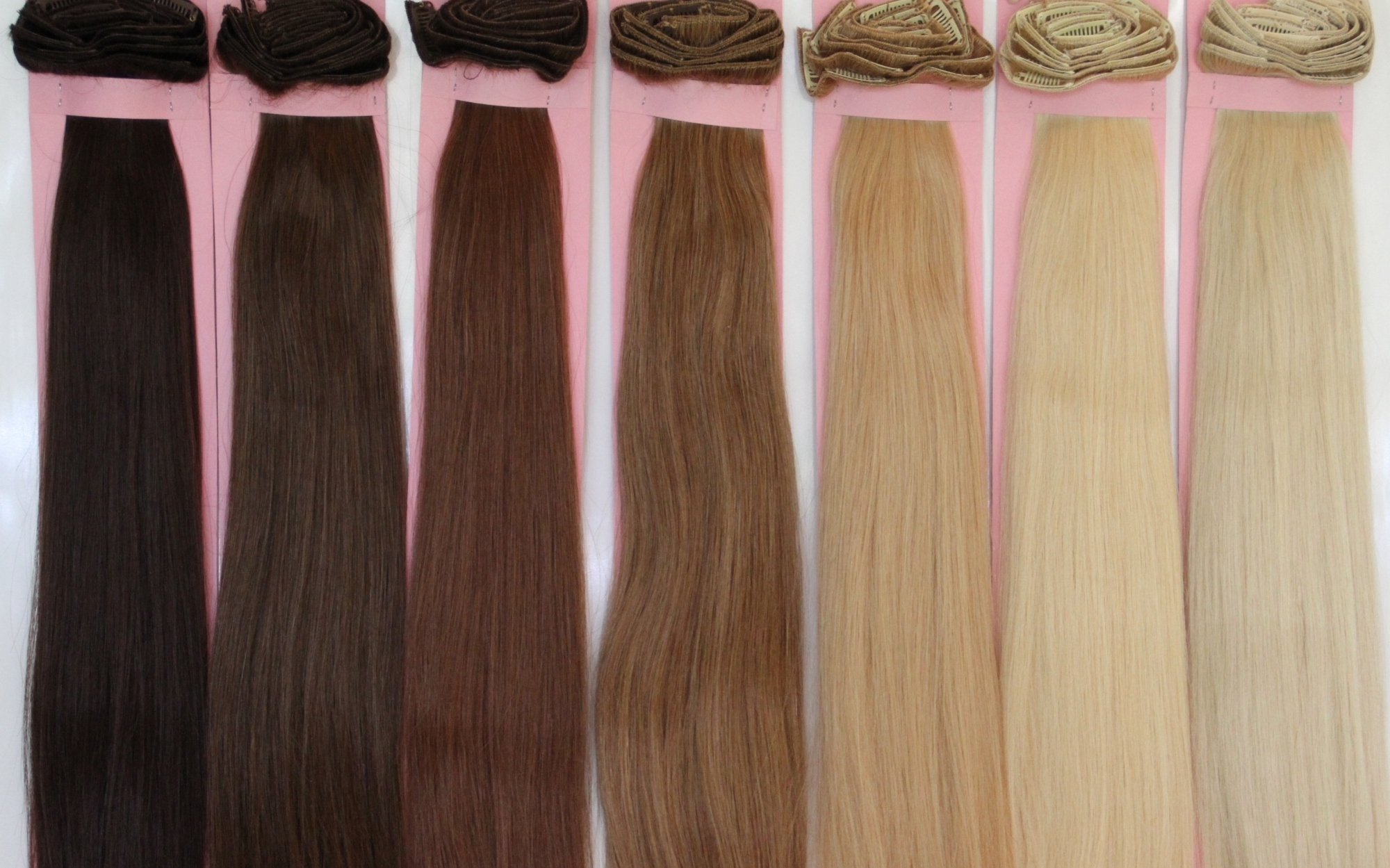 Remy Brazilian 100 Real Human Hair Clip In Hair Extensions Xxl 8pc