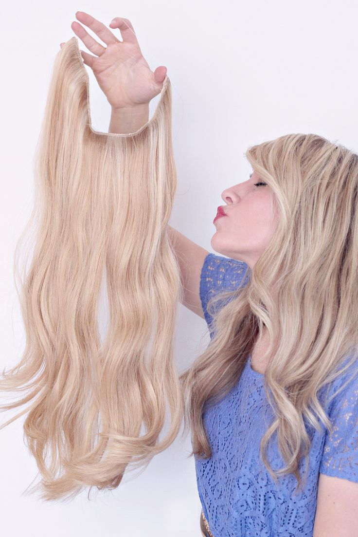 Xxl 2255cm Halo Flip In Hair Extensions 100 Brazilian Remy Human